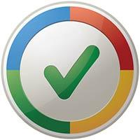 Tick inside Google colour wheel
