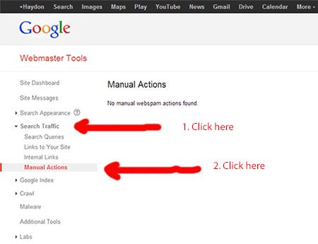 manual action check